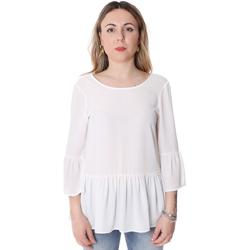 textil Dam Blusar Fracomina FR20SP040 Vit