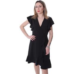 textil Dam Korta klänningar Fracomina FR20SP051 Svart