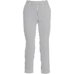 textil Dam Chinos / Carrot jeans Fracomina FR20SP163 Svart