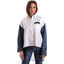 textil Dam Skjortor / Blusar Versace B0HVB606S0683904 Vit