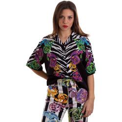 textil Dam Skjortor / Blusar Versace B0HVB604S0793983 Svart