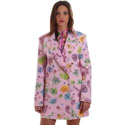 textil Dam Jackor & Kavajer Versace C2HVB507SN75SK69 Rosa