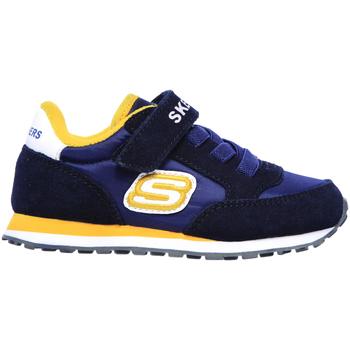 Skor Barn Sneakers Skechers 97366N Blå