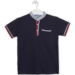textil Pojkar Kortärmade pikétröjor Losan 013-1791AL Blå