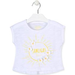 textil Flickor T-shirts Losan 016-1006AL Vit