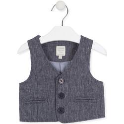 textil Barn Koftor / Cardigans / Västar Losan 017-2790AL Blå