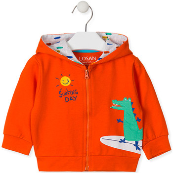 textil Barn Sweatshirts Losan 017-6026AL Orange