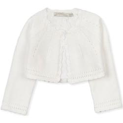 textil Barn Koftor / Cardigans / Västar Losan 018-5790AL Vit
