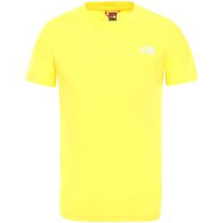 textil Barn T-shirts The North Face NF0A2WANDW91 Gul