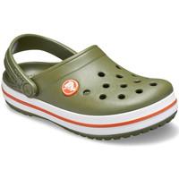 Skor Barn Träskor Crocs 204537 Grön