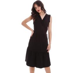 textil Dam Korta klänningar Gaudi 011BD15037 Svart