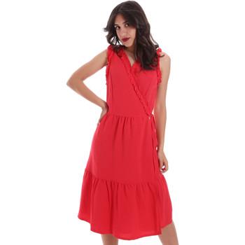 textil Dam Korta klänningar Gaudi 011BD15037 Röd