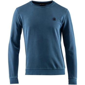 textil Herr Sweatshirts Lumberjack CM60142 007 518 Blå