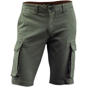 textil Herr Shorts / Bermudas Lumberjack CM80747 002 602 Grön