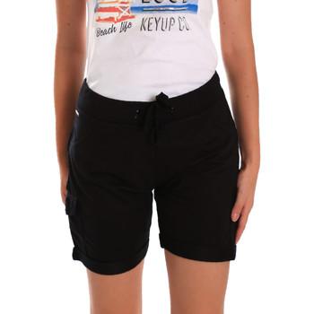 textil Dam Shorts / Bermudas Key Up 5G75F 0001 Svart