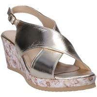 Skor Dam Sandaler Grace Shoes ZB 039 Gul