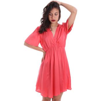 textil Dam Korta klänningar Gaudi 011FD15061 Rosa