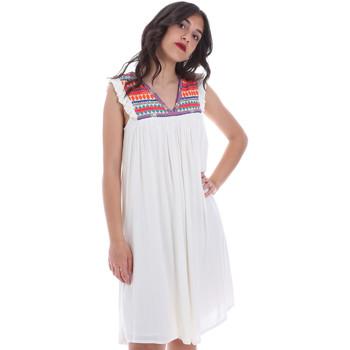 textil Dam Korta klänningar Gaudi 011BD15007 Beige