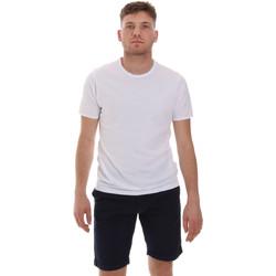 textil Herr T-shirts Sseinse ME1566SS Vit