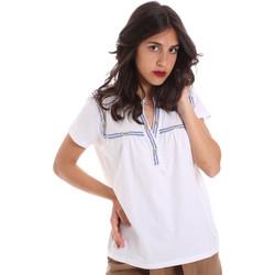 textil Dam T-shirts Gaudi 011BD64015 Vit