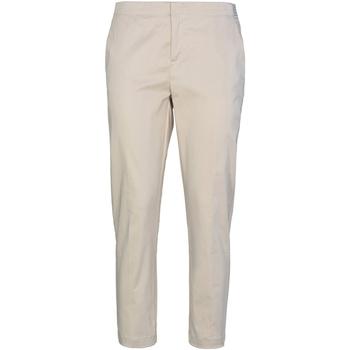 textil Dam Chinos / Carrot jeans Café Noir JP232 Beige