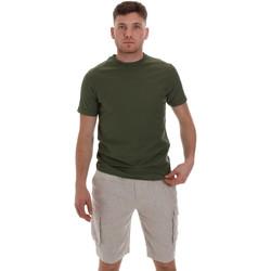 textil Herr T-shirts Sseinse ME1548SS Grön