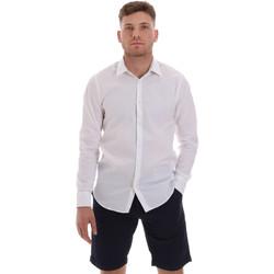 textil Herr Långärmade skjortor Sseinse CE506SS Vit