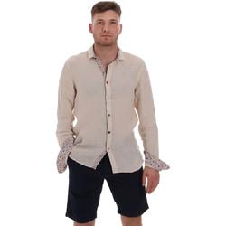 textil Herr Långärmade skjortor Sseinse CE538SS Beige