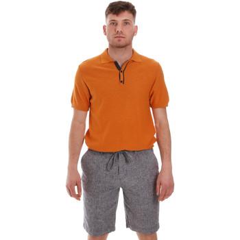 textil Herr Kortärmade pikétröjor Sseinse ME1528SS Orange