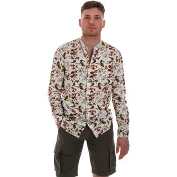 textil Herr Långärmade skjortor Sseinse CE526SS Beige