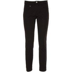 textil Dam Chinos / Carrot jeans NeroGiardini P860170D Svart