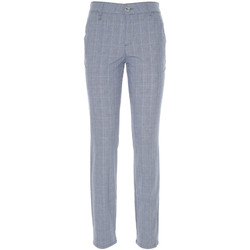 textil Dam Chinos / Carrot jeans NeroGiardini P860180D Blå