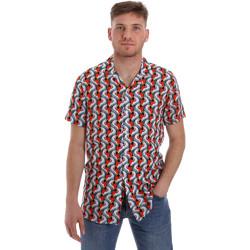 textil Herr Kortärmade skjortor Sseinse CE516SS Vit
