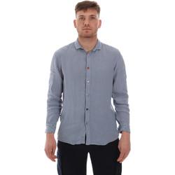 textil Herr Långärmade skjortor Sseinse CE538SS Blå