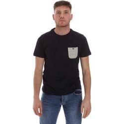 textil Herr T-shirts Sseinse ME1588SS Blå