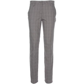 textil Dam Chinos / Carrot jeans NeroGiardini P860180D Svart