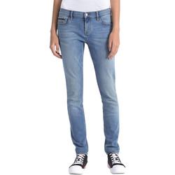 textil Dam Jeans Calvin Klein Jeans J20J206356 Blå