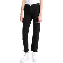 textil Dam Jeans boyfriend Calvin Klein Jeans J20J207108 Svart