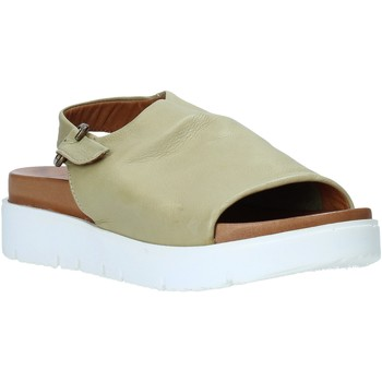 Skor Dam Sandaler Bueno Shoes 9N3404 Grön