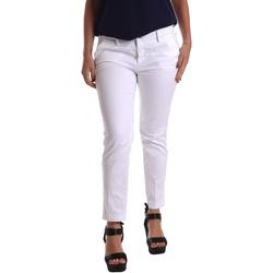 textil Dam Chinos / Carrot jeans Café Noir JP236 Vit