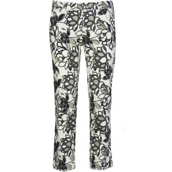 textil Dam Chinos / Carrot jeans Café Noir JP242 Svart
