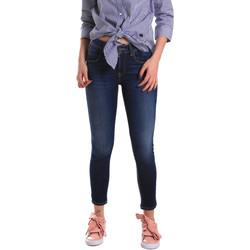 textil Dam Skinny Jeans Fornarina BE171L48D867VR Blå