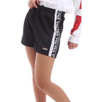 textil Dam Shorts / Bermudas Fila 687689 Svart