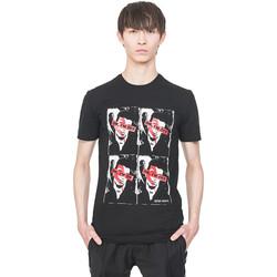 textil Herr T-shirts Antony Morato MMKS01743 FA120001 Svart