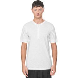 textil Herr T-shirts Antony Morato MMKS01725 FA100139 Vit