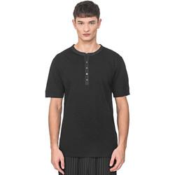 textil Herr T-shirts Antony Morato MMKS01725 FA100139 Svart