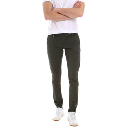textil Herr Chinos / Carrot jeans Antony Morato MMTR00496 FA800129 Grön