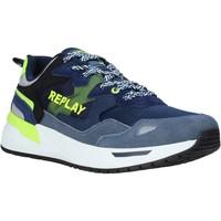 Skor Herr Sneakers Replay GMS2L 240 C0001T Blå