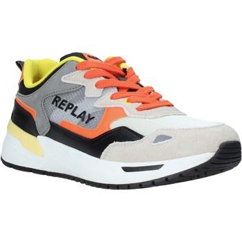Skor Herr Sneakers Replay GMS2L 240 C0001T Orange