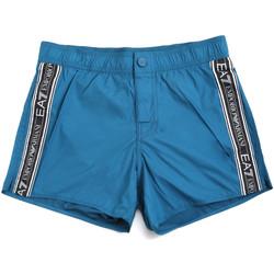 textil Herr Badbyxor och badkläder Ea7 Emporio Armani 902039 0P734 Blå